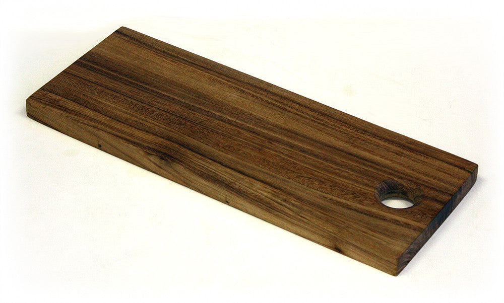 "18"" X 7"" Solid Acacia Plank Cutting Board *HAND CARVED FROM 1 PIECE OF WOOD - 100% NATURAL (NO GLUE USED)*"