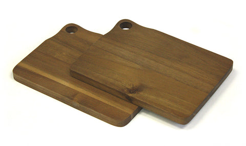 Mountain Woods 2 Piece Acacia Bar Cutting Board Set 1
