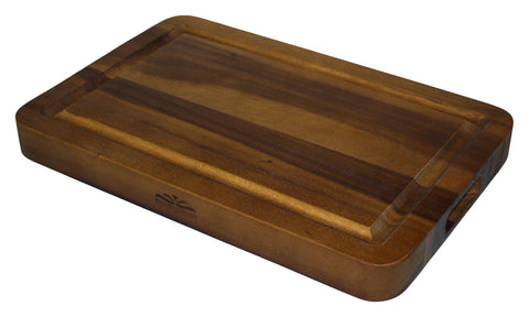 Mountain Woods 18 X 12 Extra Thick Acacia Cutting Board w/ Juice Groove