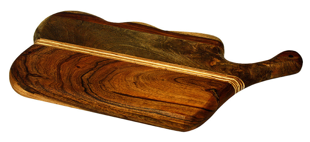 Mountain Woods Brown La Cocina Collection Series Cutting Board/ Serving Tray 1