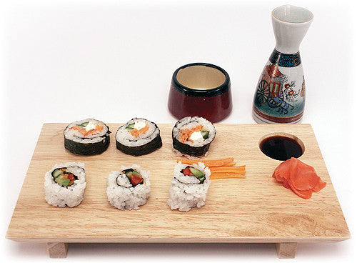 Mountain Woods Large Sushi Board