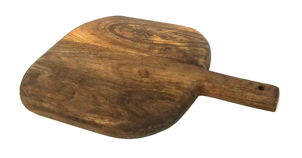 13 Inch Adobe Round Paddle Cutting and Serving Board