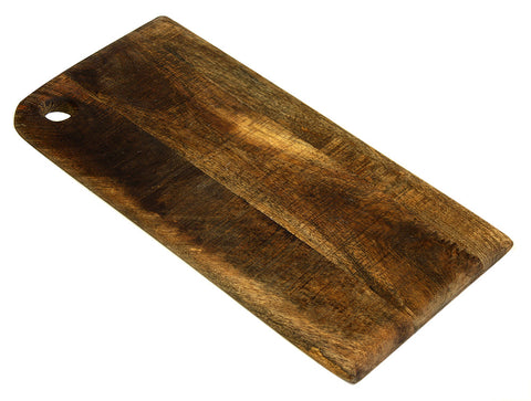 Mountain Woods Brown Medium Organic Hardwood Mango Cutting Board 1