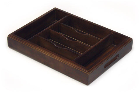 Mountain Woods Brown 6-section Premium Organizer Tray 1