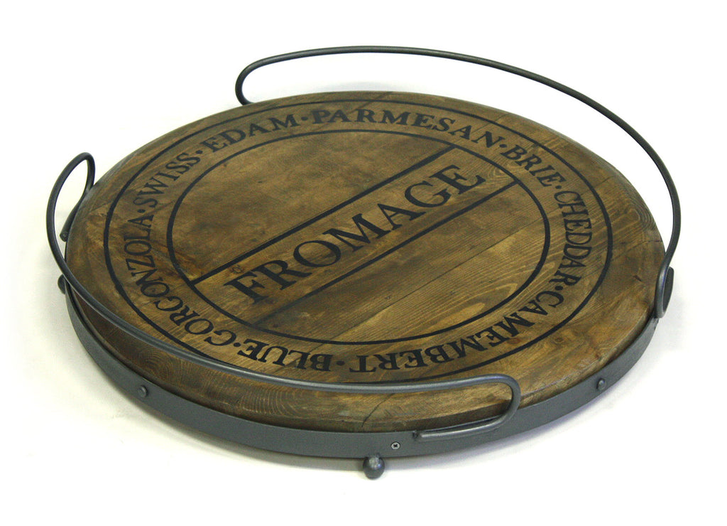 Mountain Woods 19 Quot Round Fromage Antique Style Artisan