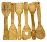 Simply Bamboo 6 Piece Bamboo Utensil Set