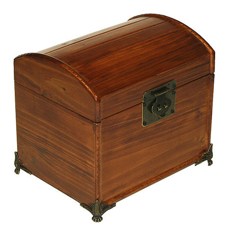 Valencia Antique Style Recipe Box with Legs