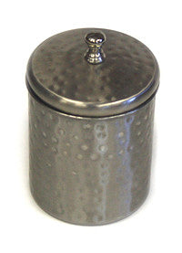 Zuccor Silver Stainless Steel 700ml Canister with Nickle Finish 1