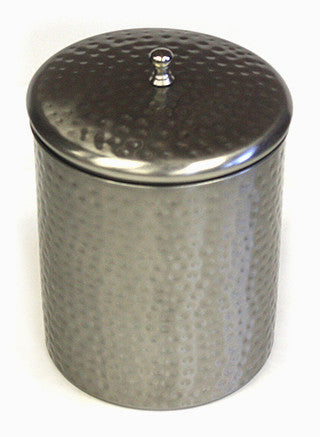 Zuccor Silver Stainless Steel 2350ml Canister with Nickle Finish 1
