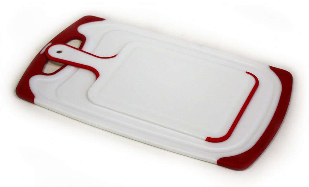 ZUCCOR 2 Piece Cutting Board Set (RED)