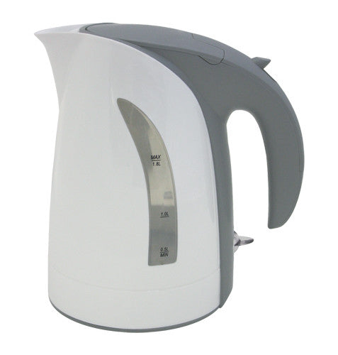 White Milano Cordless Electric Kettle