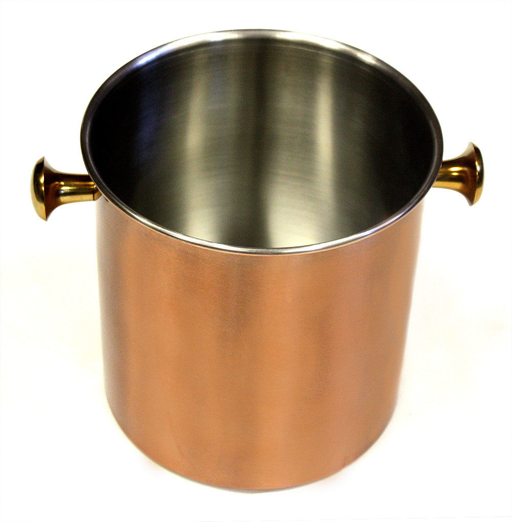 ZUCCOR Stainless Steel Copper Plated Ice Bucket