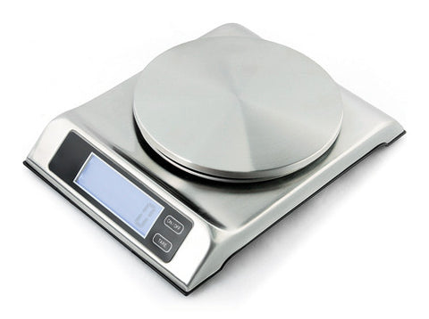 Zuccor 13 lb. Stainless Steel Capri Professional Food Scale 1