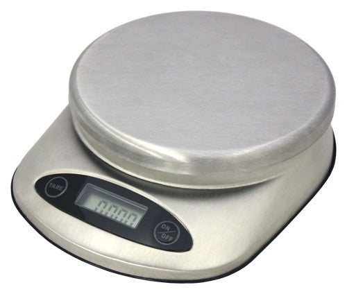 Zuccor 11 lb. Stainless Steel Siena Professional Food Scale 1