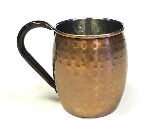 stainless-antique-copper-moscow-mule-mug-hammered