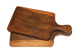 "Mountain Woods Solid Organic Wood Cutting Board, 17.5"" x 8.5""x 1.5"""