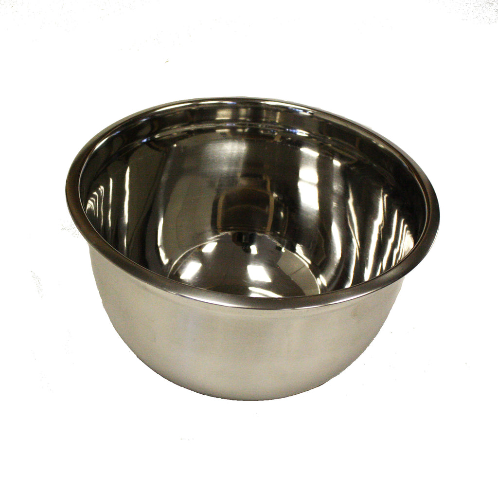 ZUCCOR Professional Steel Mixing Bowl w/ Silicone Base