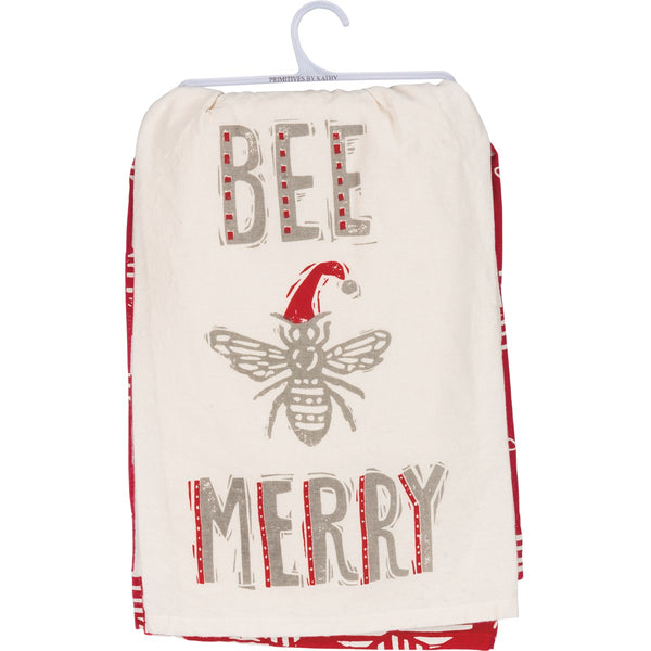 Bee Merry Dishtowel Set