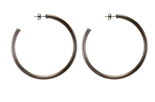 Large Everybody's Favorite Hoop Earrings by Shelia Fajl