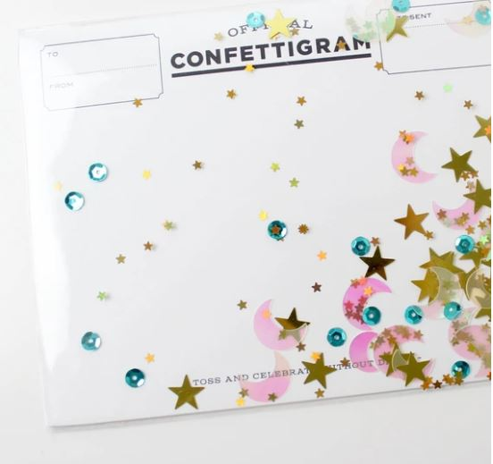 Confettigram Card