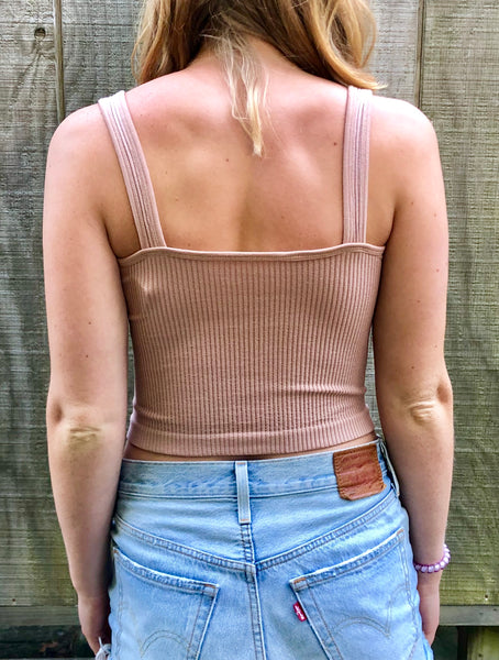 Solid Rib Brami by Free People