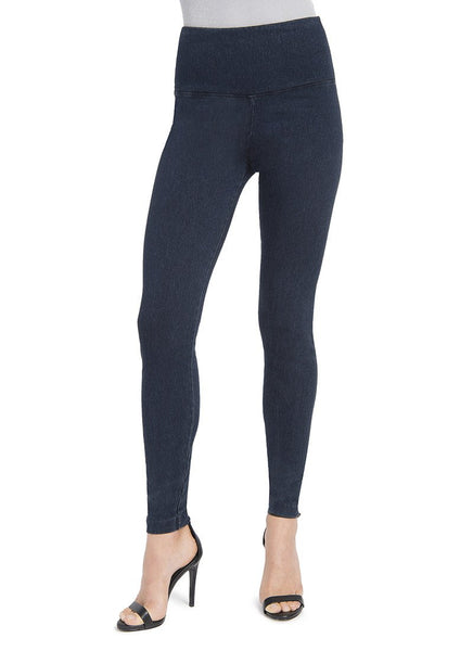 Control Denim Ankle Legging by Lysse