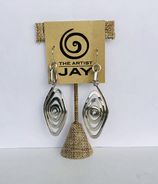 Spiral Eye Earring by The Artist Jay