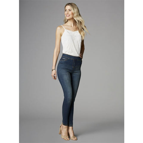 High Rise Skinny Ankle Jean by OMG