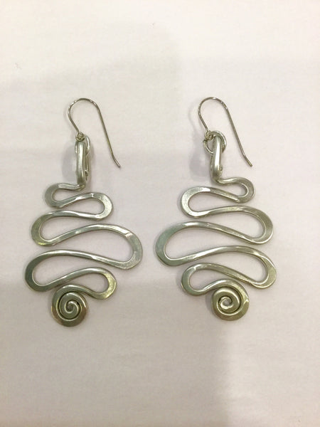 Squiggle Earrings, by The Artist Jay