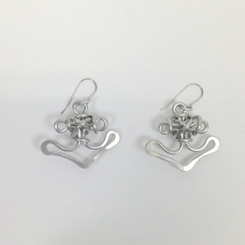 Anchor Earrings by The Artist Jay