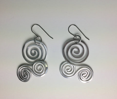 Surfs Up Earrings, by The Artist Jay
