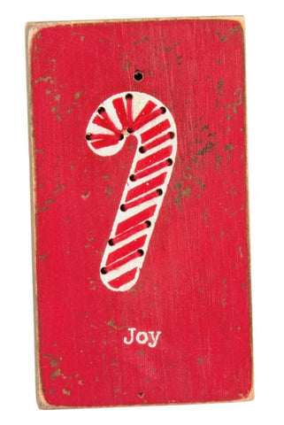 Joy Stitched Magnet