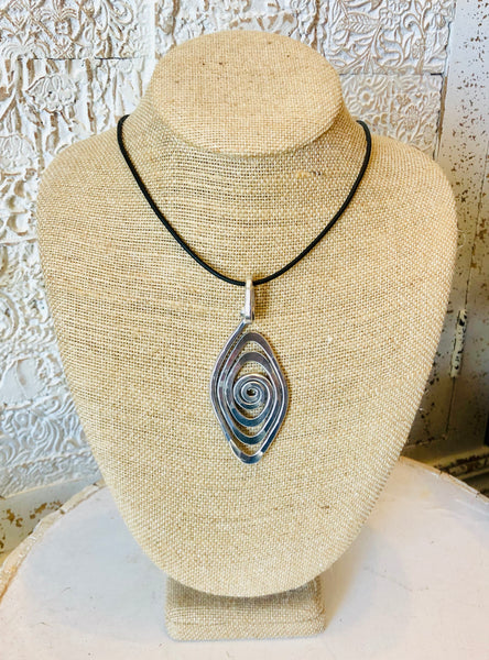 Spiral Eye Necklace by The Artist Jay