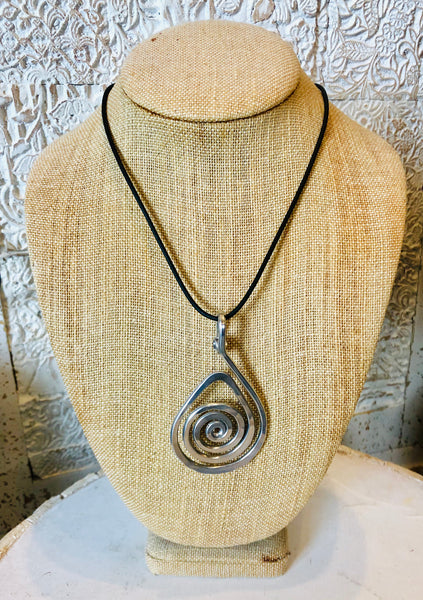 Teardrop Necklace by The Artist Jay