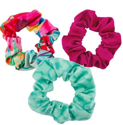 Velvet Scrunchies Set of 3