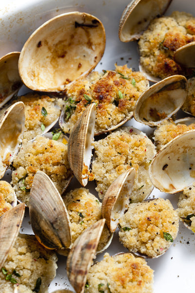 Classic Baked Clams