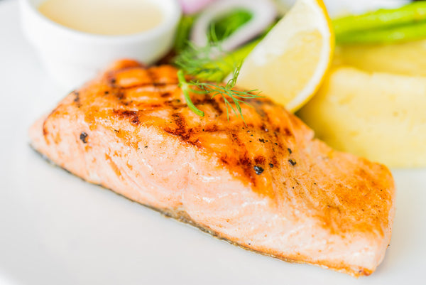 Grilled North Atlantic Wild Salmon
