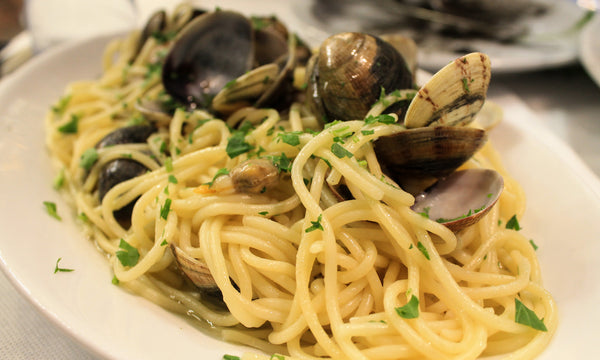 Linguine with Clam Sauce (White or Red)