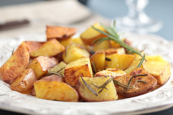 Red Roasted Rosemary Potatoes
