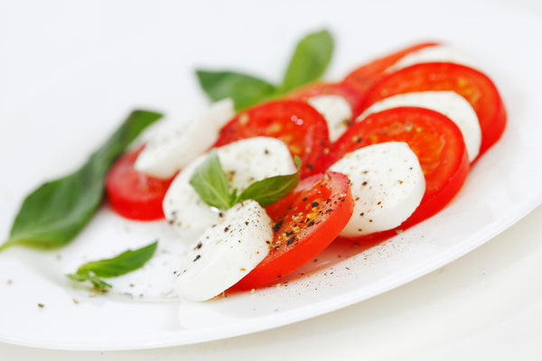 Fresh Mozzarella and Vine Ripe Tomatoes