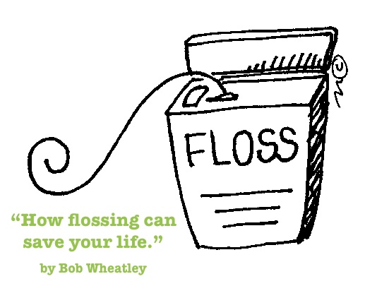 How flossing can save your life