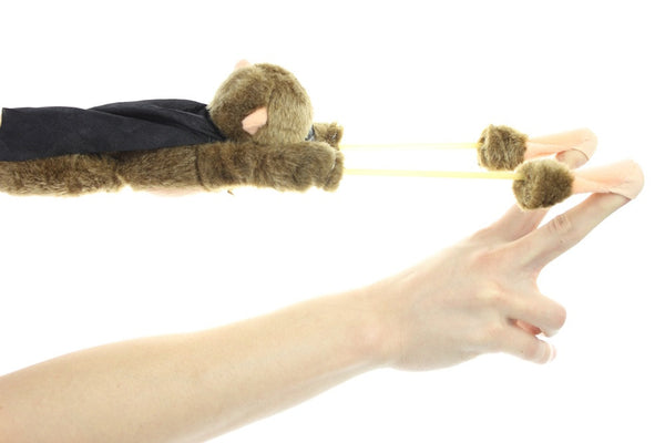 Slingshot Style Flying Screaming Animal Plush Toys