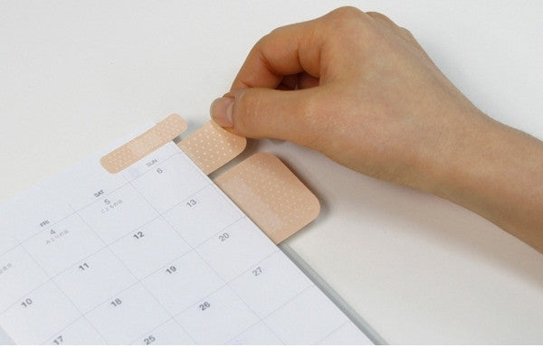 band aid style notepad memo infmetry