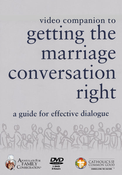 Video Companion to Getting the Marriage Conversation Right