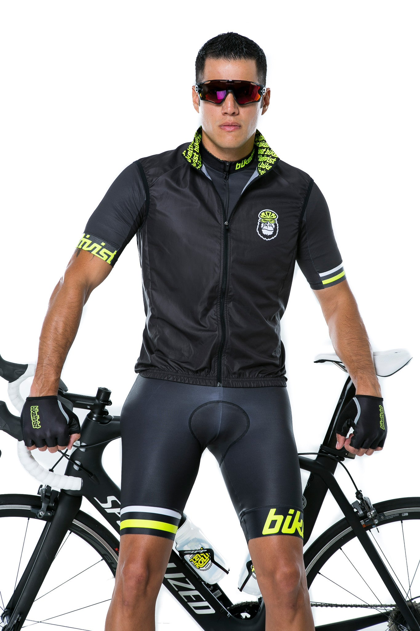 The Biketivist Lightweight Gilet (Vest) - Front view2