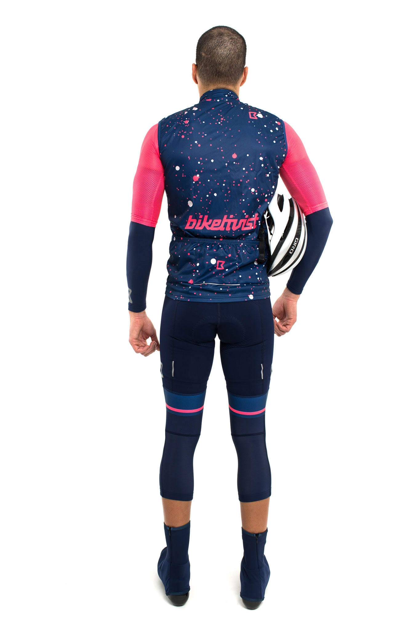 Supernova Lightweight Gilet (Navy Blue/Pink)