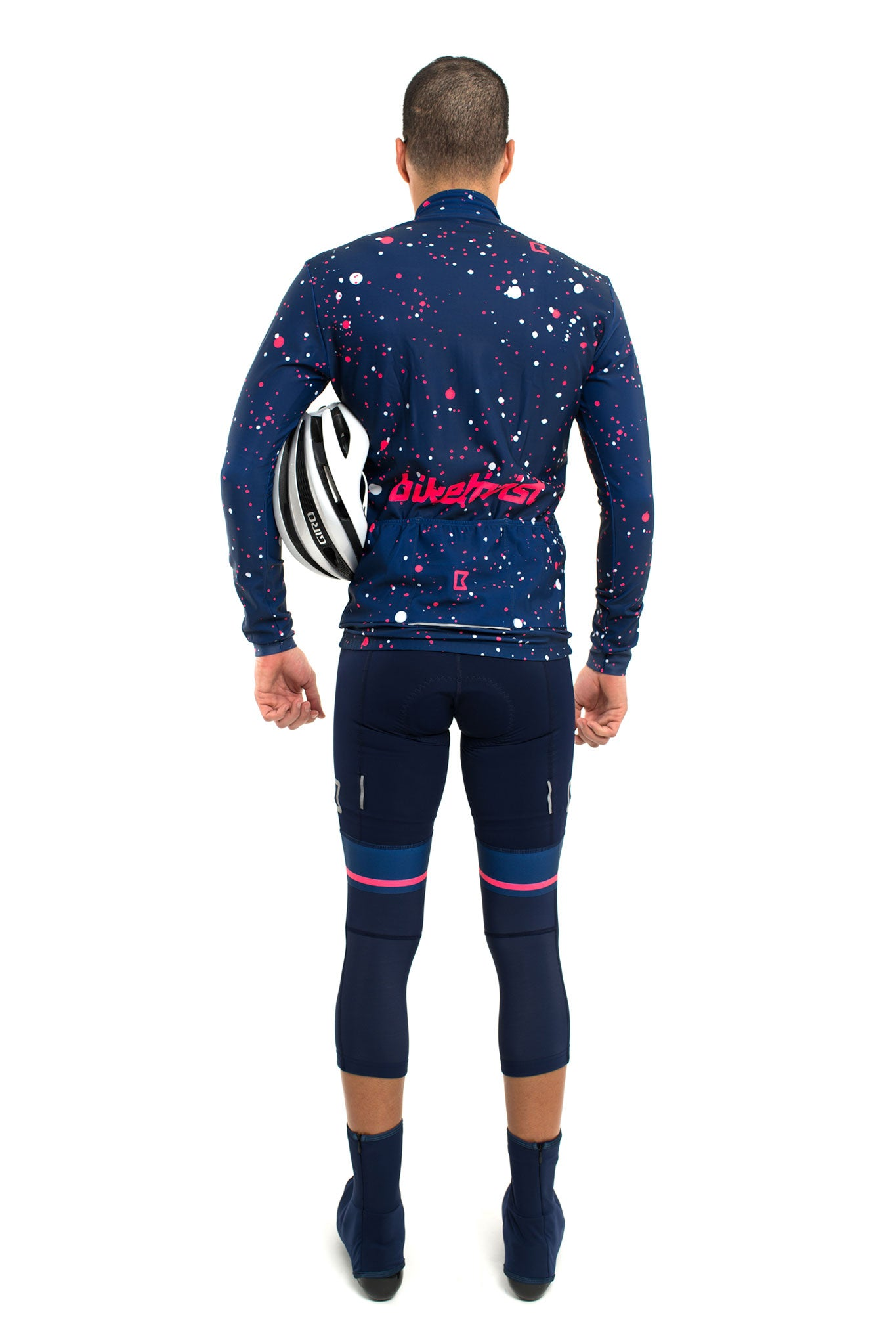 Supernova Thermal Jacket (Navy Blue/Pink)