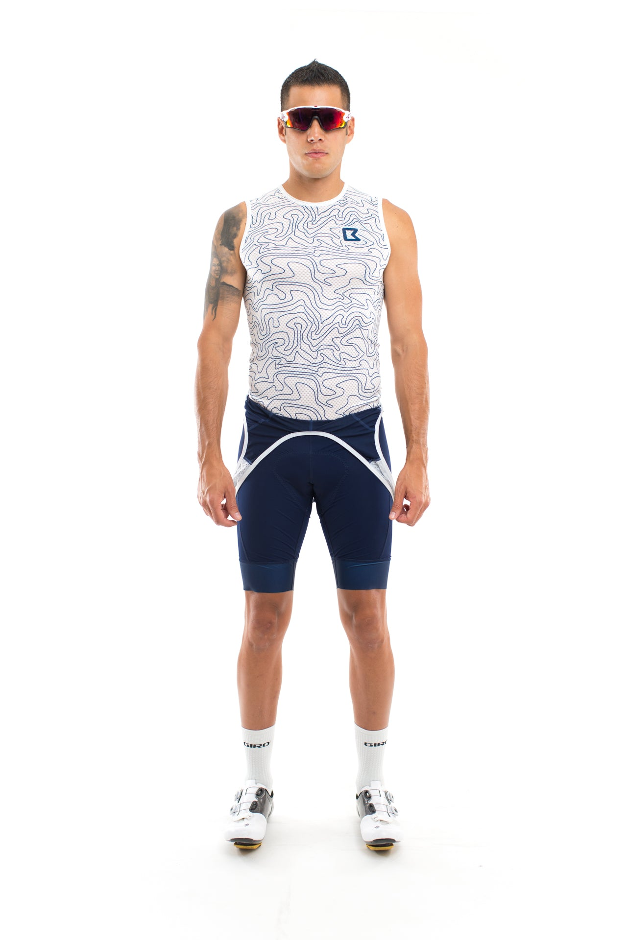 Mesh Base Layer - White