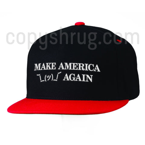 Trump Inspired - Make America Shrug Again Cap Product Shot