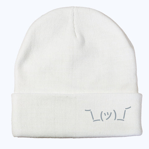 Shruggie Beanie - White